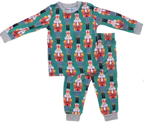 Kozi & Co Nutcracker 2pc Pajama Set