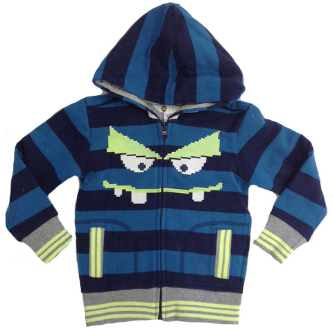 Petit Lem PL Kids Monster Zip Up Hoodie