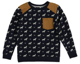 Petit Lem PL Kids Animal Sweater