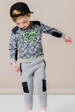Petit Lem PL Kis Grey Sweatpants