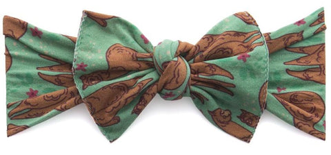 Baby Bling Llama Mama Printed Knot - Basically Bows & Bowties