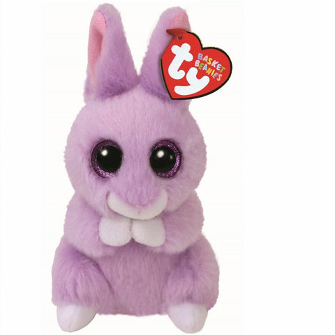 Ty April the Bunny Basket Beanie Baby