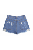 Tractr Girls Star and Moon Denim Shorts