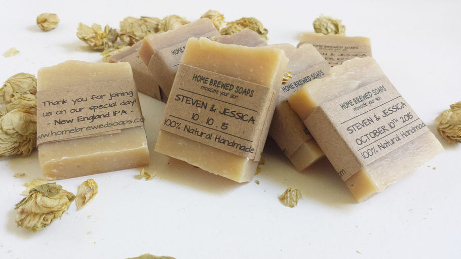 Happy New Year! New Soap Wedding Favor Scents now available!