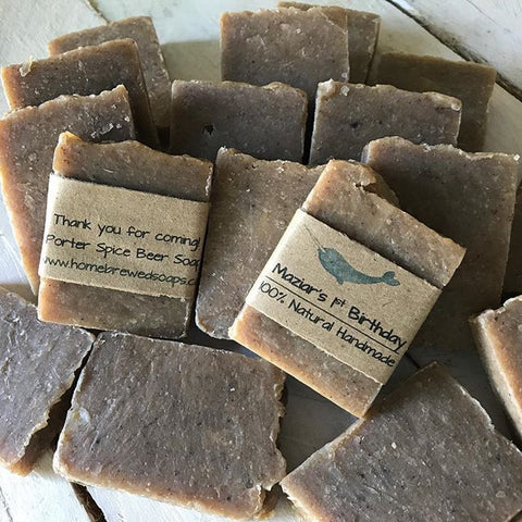 party soap favors, birthday party soap favors