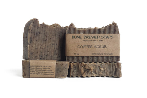 Home Brewed Soap Coffee Soap