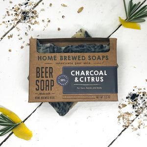 Activated Charcoal Soap Bar - Home Brewed Soaps