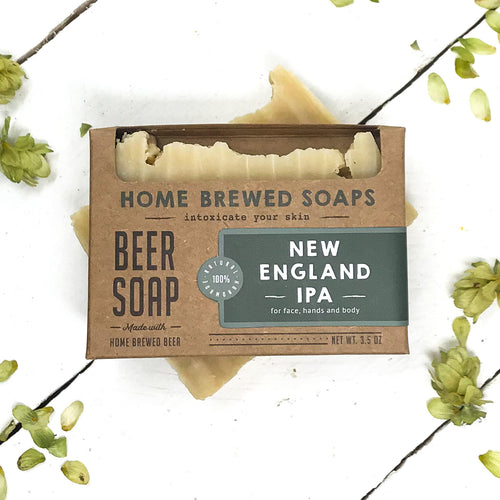 Beer Soap - New England IPA - Soap for Men - Home Brewed Soaps