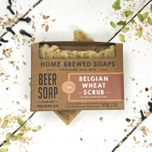 Beer Soap - Belgian Wheat Scrub - Beer Lovers Gifts - Home Brewed Soaps
