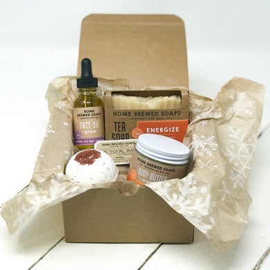 Christmas Gift for Women- Spa Gift Set - Energize