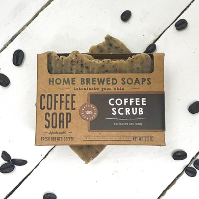 Coffee Soap - Coffee Ground Soap - Gifts for Coffee Lovers - Home Brewed Soaps