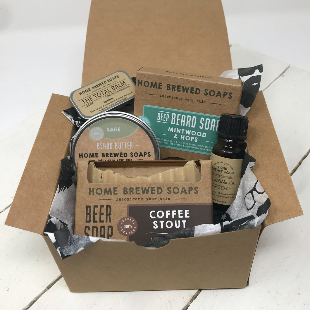 Beard Gift Set - Fathers Day - Mintwood Hops