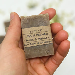 Unique Wedding Favors - Beer Soap - Love is Brewing - Home Brewed Soaps