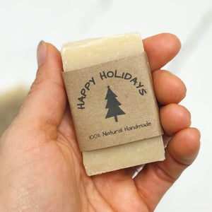 Christmas - Personalized Favors - Soap - Home Brewed Soaps