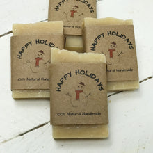 Christmas - Snowman Party Favors - Guest Soap - Home Brewed Soaps