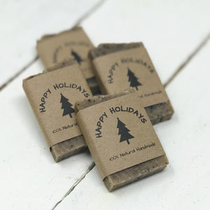 Coffee Soap Favors for Christmas - Party Favors for Guests - Home Brewed Soaps