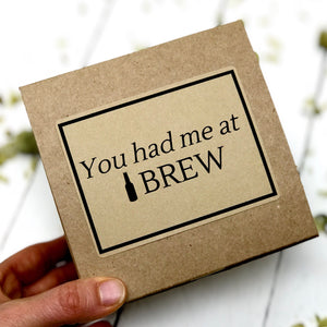 Valentines Day Gifts for Him - Beer Soap - Home Brewed Soaps