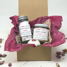 Valentines Day Gift for Her - Bath Salts - Bath Bomb - Sugar Scrub - Home Brewed Soaps
