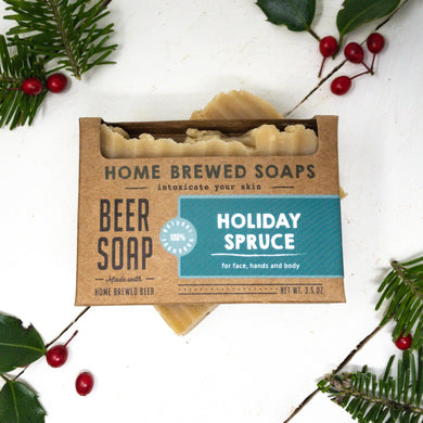 Holiday Spruce Beer Soap - Soap for Men
