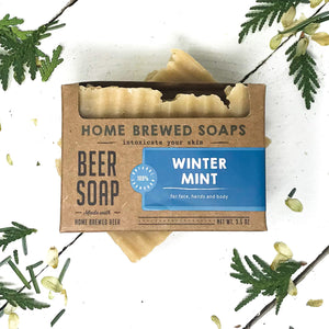 Winter Mint Beer Soap - Soap for Men
