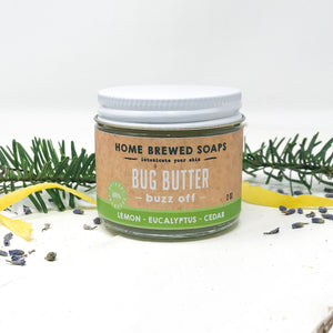 Buzz Off Bug Repellent Body Butter - Natural Repellent - Home Brewed Soaps