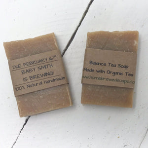 Baby Shower Favors - A Baby is Brewing - Soap - Home Brewed Soaps