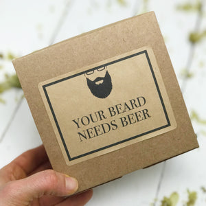 Beard Gift Set - Beard Shampoo - Beard Oil - Mintwood & Hops - Home Brewed Soaps