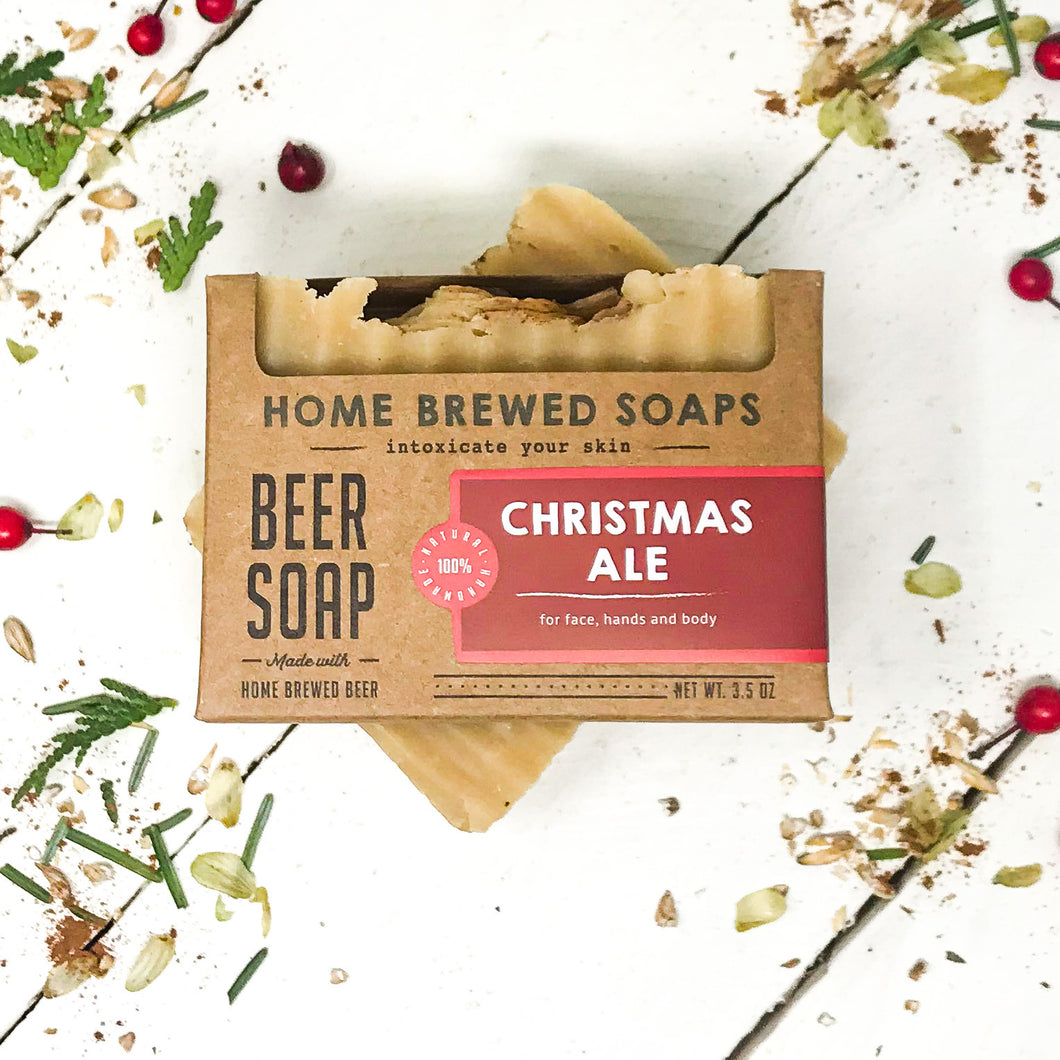 Christmas Ale Beer Soap - Soap for Men