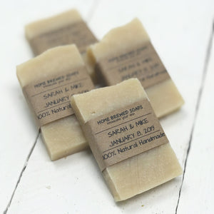 Unique Wedding Favors for Guests - Tea Soap - Home Brewed Soaps