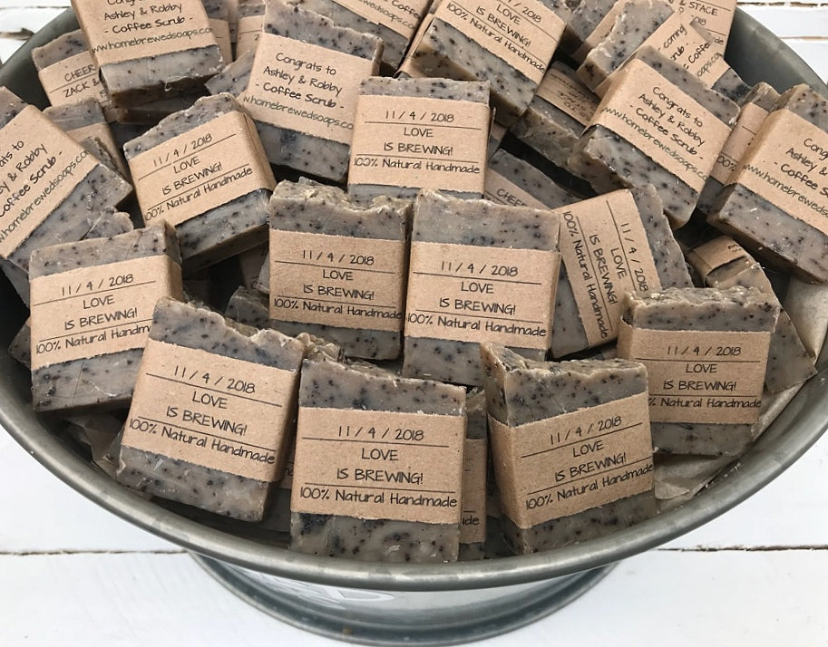 Soap Favors Coffee Soap Soap Bar Favors Wedding Favors Coffee