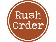 Rush my order! - Home Brewed Soaps