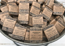 Coffee Wedding Favors - Coffee Soap - Coffee Themed Wedding - Home Brewed Soaps