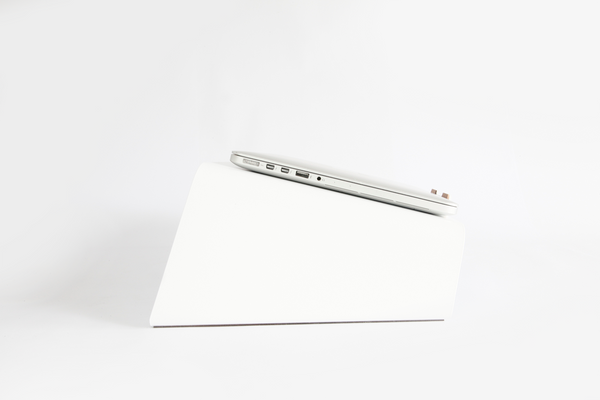 Laptop Stand Matte White