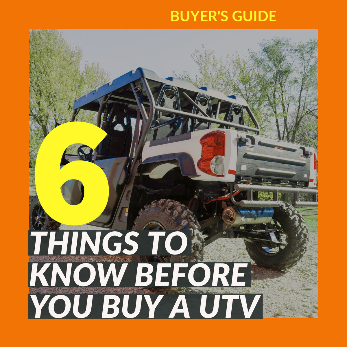 Before You Buy a UTV | Scooter's Powersports