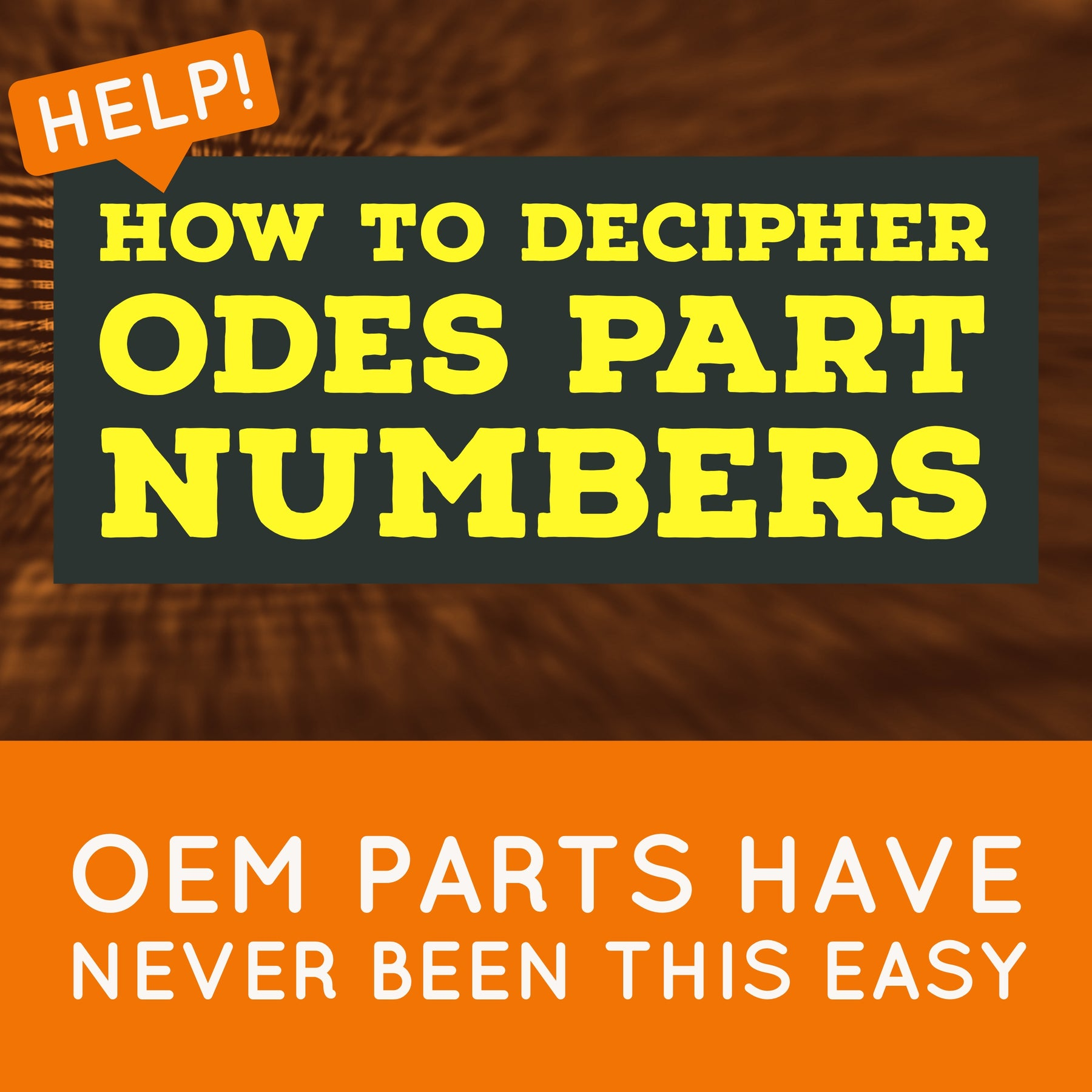 ODES Part Numbers | Scooter's Powersports
