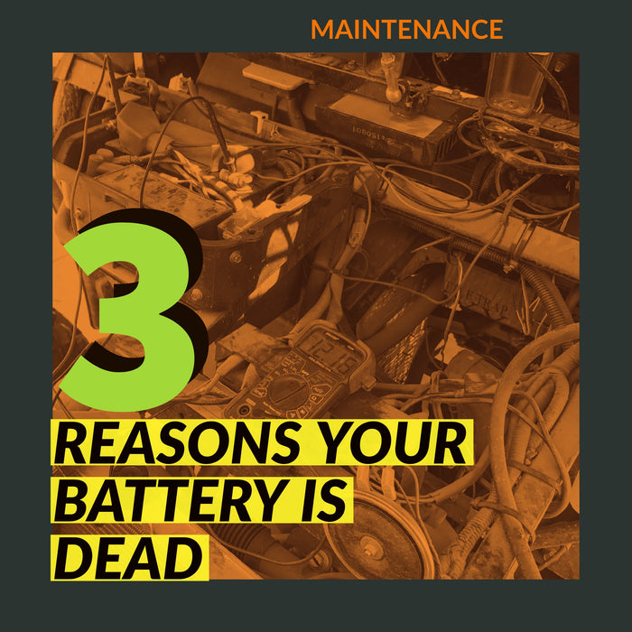 ODES Dominator Battery Dead | Scooter's Powersports