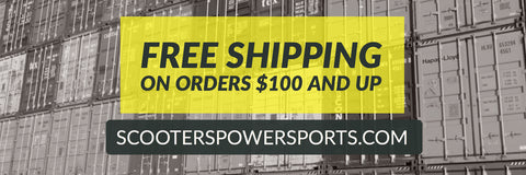 ODES Free Shipping | Scooter's Powersports