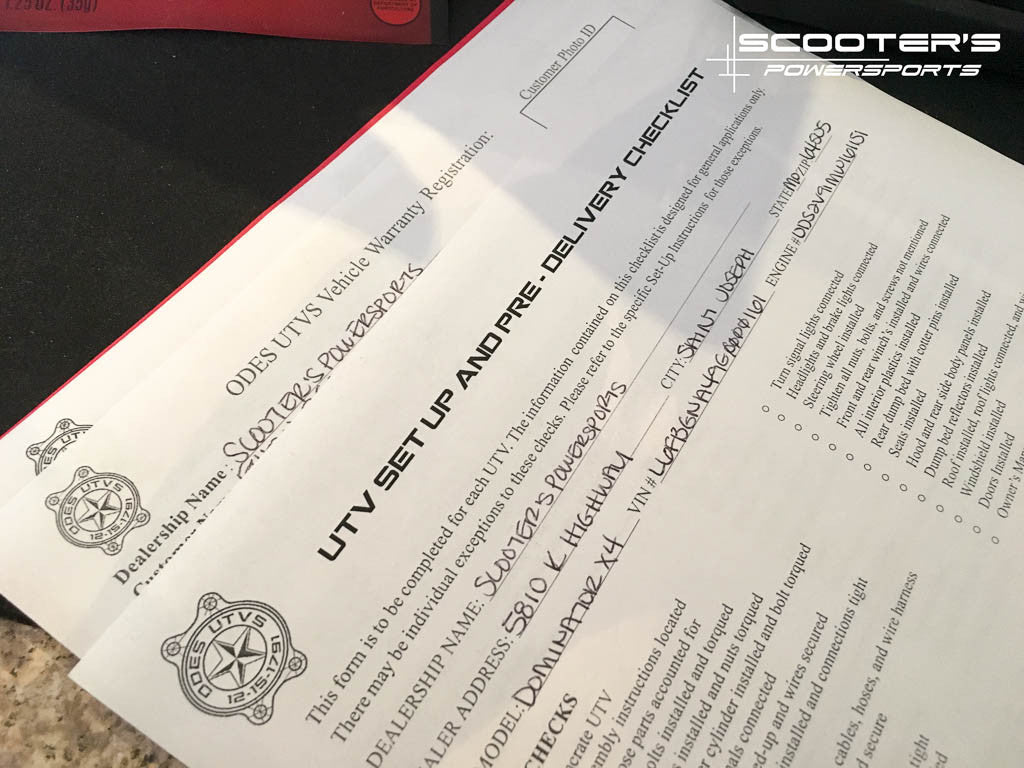 Dont Buy From These Odes Dealers Scooters Powersports 800 Utv Wiring Diagram Utvs