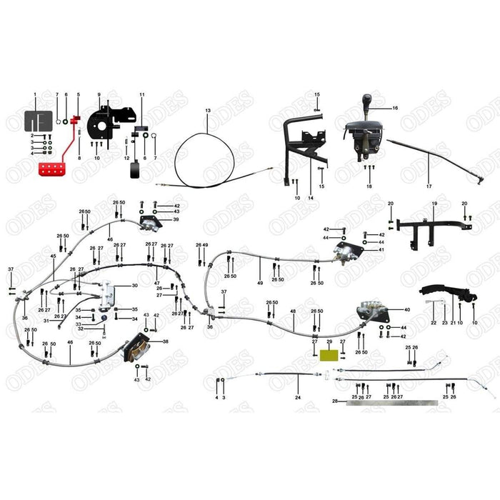 wiring diagrams for odes 800