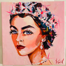 "Gaga. 12""x12"" original watercolor painting."