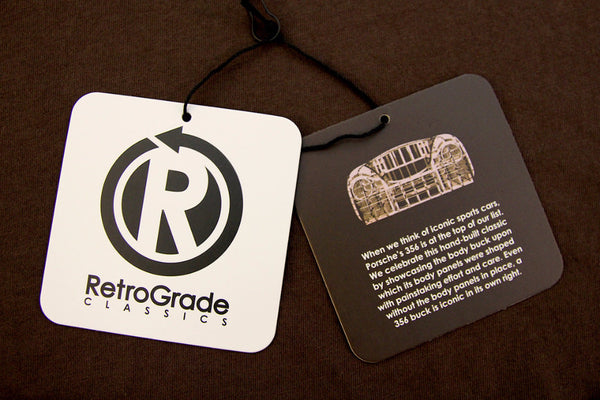 RetroGrade Buck T-Shirt Hangtags