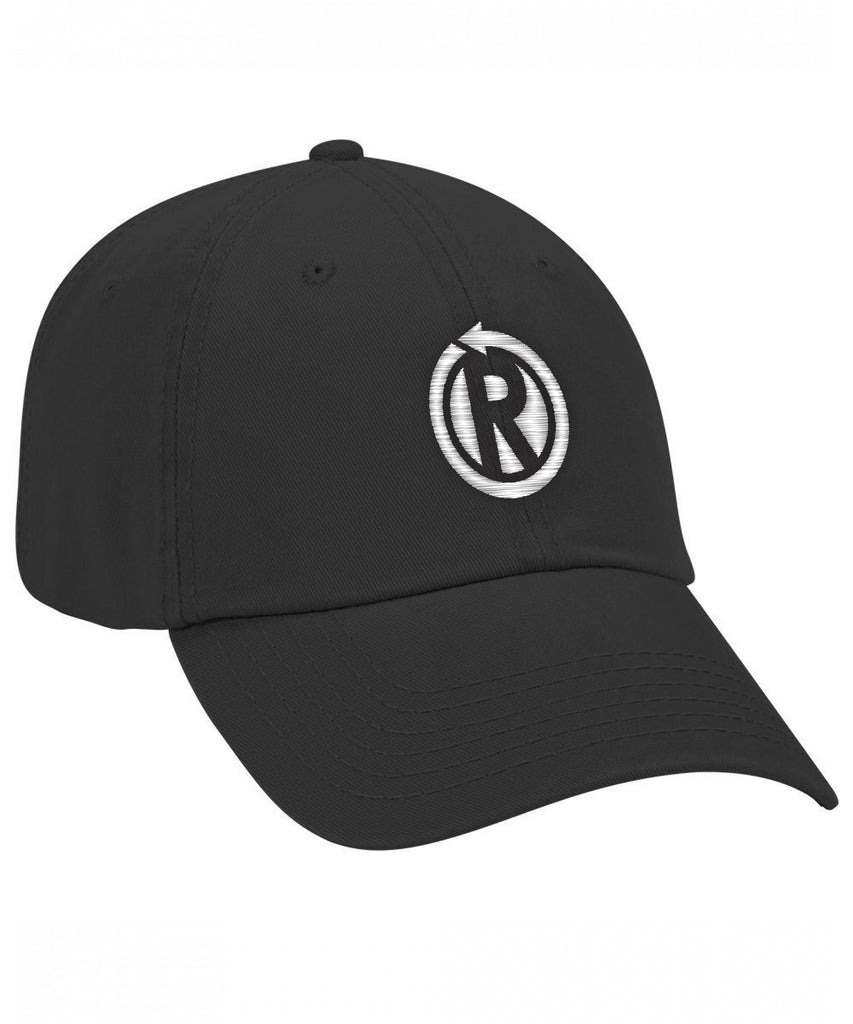 Embroidered Logo Unstructured Hat
