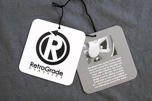 RetroGrade Fuchs T-Shirt Hangtags