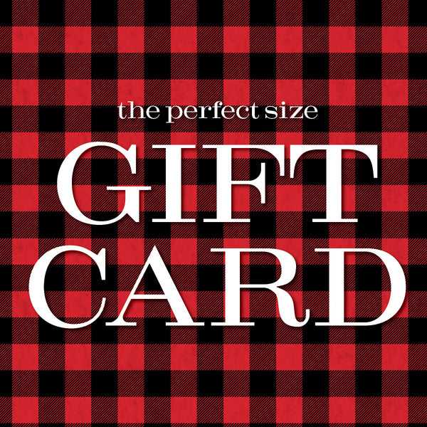 The Perfect Size Gift Card