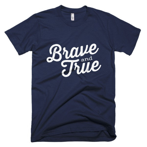 Brave + True Scout Motto Tee