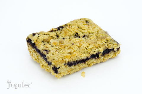 Blueberry Honey Oat Bar 135mg by Green Goddess
