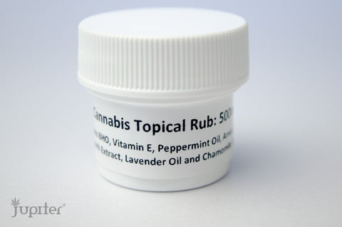 Cannabis Topical Rub