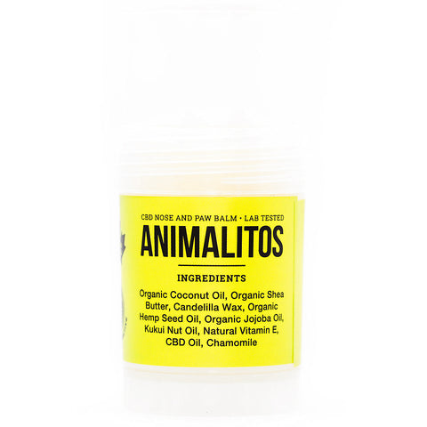 ANIMALITOS CBD NOSE AND PAW BALM