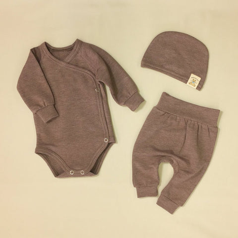 BAMBOO LAYETTE - SEQUOIA BARK