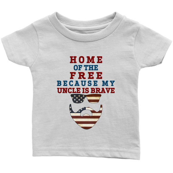 Brave Uncle Infant T-shirt